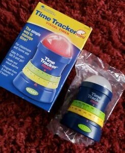 Learning Resources Time Tracker Mini with Visual and Audio Timer Alarms LER6909
