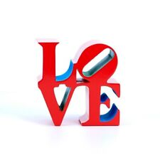 Robert Indiana - Love  (red, Blue,green) - Sculpture