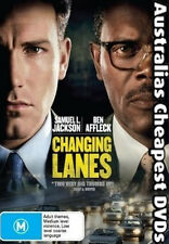 Changing Lanes DVD NEW, FREE POSTAGE WITHIN AUSTRALIA REGION 4