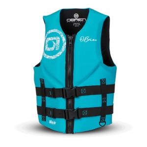 New O'Brien Women's Traditional Life Jacket - Aqua