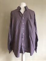 Ben Green Pure Cotton Checked Regular Designer Shirt XXL 46/18 Collar