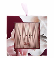 Ted Baker Rose Gold Double Mirror Compact In Gift Box