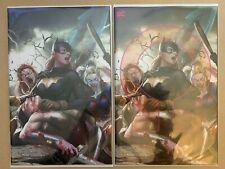 DCeased #6 Inhyuk Lee Virgin and Omega Variant Set