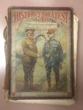 Antique WWI History's Greatest War 1919 A Pictorial Narrative S.J. Duncan-Clark