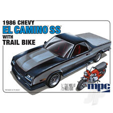 MPC 1:25 1986 Chevy El Camino SS with Dirt Bike Car Plastic Kit
