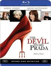 THE DEVIL WEARS PRADA (Blu-ray 2006) Meryl Streep Anne Hathaway[See Description]