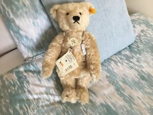 """A STEIFF CLASSIC 1920s REPLICA JOINTED GROWLER TEDDY BEAR """"FREDERICH"""""""