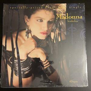 "Madonna - RARE SEALED, BORDERLINE 12"" vinyl U.S.A. Maxi SINGLE"