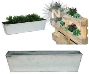 Paletten Pflanzschale Einsatz für Europalette Zink 38cm Pflanzkübel Blumenkasten