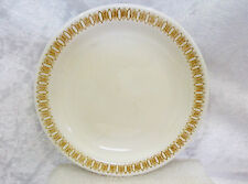 """Bristile / Wembley ware - Side Plate vgc (6"""") brown geometric - 6 plates avail."""