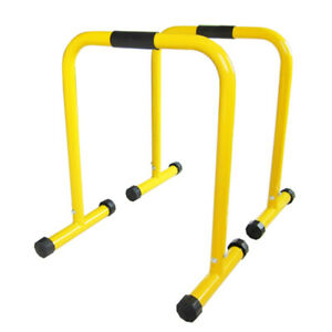 Chin Pull Up Dip Parallel Bars Strength Exercise Station Home Fitness Gym