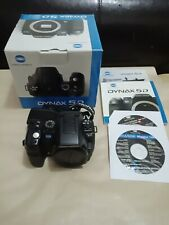 Konica Minolta Dynax 5D 6.1MP Digital SLR Camera - Black (Body only)