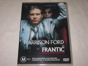 Frantic - Harrison Ford - Brand New & Sealed - Region 4 - DVD