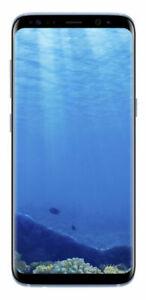 New Samsung Galaxy S8 SM-G950 - 64GB - Blue Unlocked Coral Smartphone +Free Gift