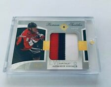 2009-10 Ultimate collection Hockey premium swatches patch Alex Ovechkin 18/25