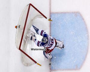 NHL New York Rangers Henrik Lundqvist Aerial View Color 8 X 10 Photo Picture
