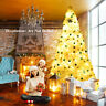9Ft Hinged Artificial Christmas Tree Premium Pine Home 2132 Tips w/Metal Stand