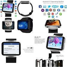 Smart Watch Wifi Gps 3G Smart Phone Watches Support Sim Card (Gsm/Wcdma) HD