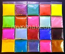 Myo 15 Piece Eye Shadow Pigment Prism Mixed Sampler Set # 3 (In Baggies No Jars)