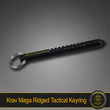Krav Maga Self-Defence RIDGED Kuboton Key Ring - TOUGH SOLID ALLOY TACTICAL ITEM