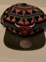 Chicago Bulls Mitchell & Ness NBA 4 Snapback,Hat,Cap   Never Worn