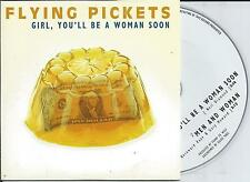FLYING PICKETS - Girl you'll be a woman soon CD SINGLE 2TR CARDSLEEVE 1997 RARE
