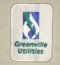 Greenville Utilities Patch - North Carolina