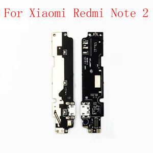 Dock Connector Charging USB Port Mic Flex Cable For Xiaomi Hongmi Redmi Note 2