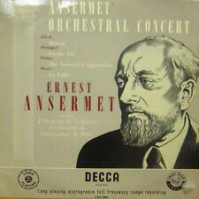 Ernest Ansermet(Vinyl LP)Ansermet Orchestral Concert-Decca-LXT 5004-UK--VG/VG
