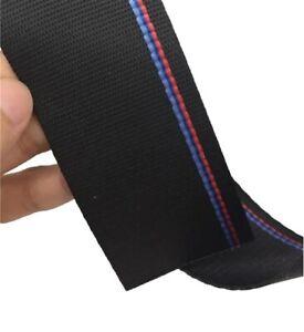 Seat Belt Fabric Replacement M stripe for Bmw E28 E30 E36 E90 E91 E46 F10 F30
