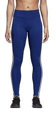 adidas Performence Damen Trainingstight VFA RR SOLID 3S L  blau