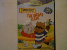 Timothy Goes To School - The Great Race Treehouse DVD Cartoon Cat Raccoon NEW