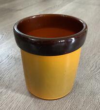 Vase,pot en Pâte De Verre Signée SCHNEIDER