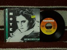 "ALISON MOYET - FOR YOU ONLY / MONEY MILE (38-05614) w/ ""PICTURE SLEEVE"""