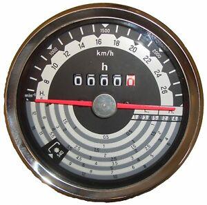 Traktormeter passend für Eicher bis 28 kmh Traktor Schlepper Stundenzähler 60266