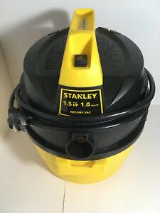 Stanley 1.5hp 1.0 gallon Wet/Dry Vacuum