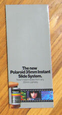 Vintage Polaroid 35mm Instant Slide System brochure advertising