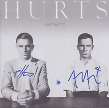 """HURTS """"Happiness"""" CD Album Booklet signed signiert IN PERSON Autogramm RAR"""