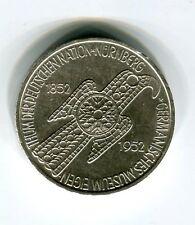 5 DM Silber 1952 Germanisches Museum original und echt (B55)