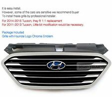 OEM Auto Parts Fuel Cell Radiator Grille For HYUNDAI 2010 - 2015 Tucson ix35