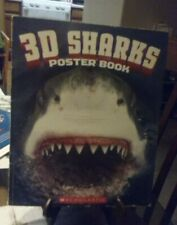2011 3D Sharks Poster Book by Scholastic