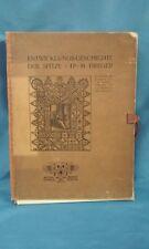 Entwicklungs Geschichte der Spitze (Development and History of Lace) 1901 190122