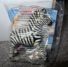 ZEBRA ANIMAL KINGDOM Disney Theme Park McDonalds 1998 Premiums Toys Jungle NEW