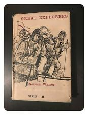 Great Explorers By Wymer, Norman 1956-01-01 Oxford University Press With D/Cover