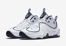 2016 Nike Air Penny 2 II White Royal Blue Size 14. 333886-100 Jordan Foamposite