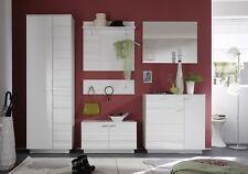 Garderoben-Schrank Relief Dielen-Set Hochschrank hochglanz UVP399€ 2g70-254 NEU