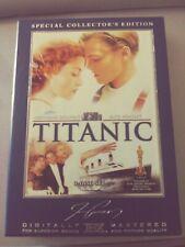 Titanic (DVD, 2005, 3-Disc Box Set, Collectors Edition, Widescreen)