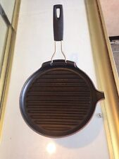 1 Of Brand New Le Creuset Enameled Cast-Iron  A/P 23 CER NR Skillet Grill Soleil