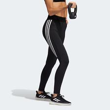 adidas Womens Techfit 3-Stripes Long Multisport tights for gym or studio black