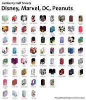 Jamberry DISNEY, MARVEL, DC, & PEANUTS Nail Wraps ~ Half Sheet, FREE SHIPPING